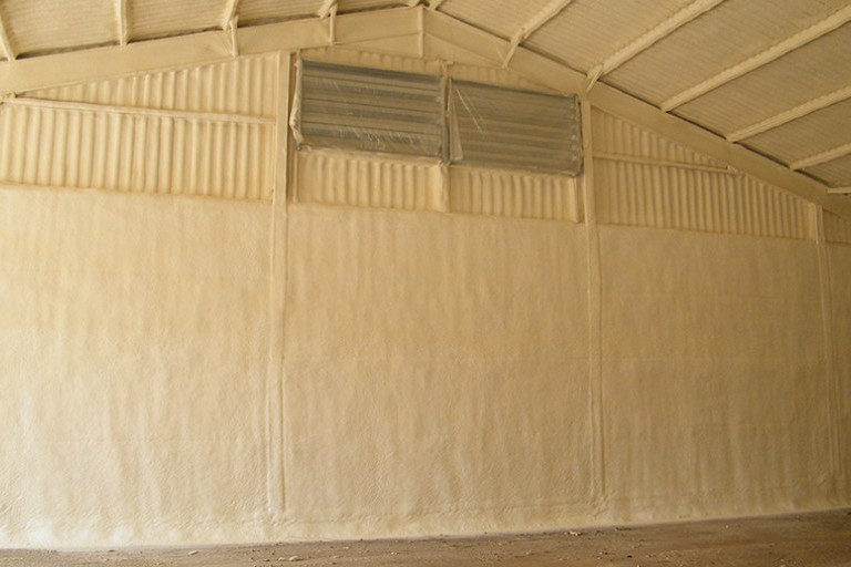 Potato Store Insulation