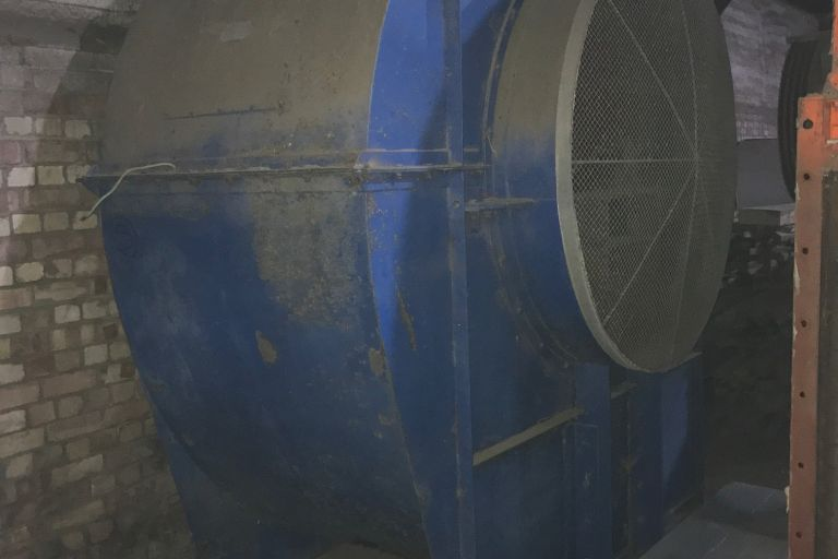 75 Hp Centrifugal Fan Unit