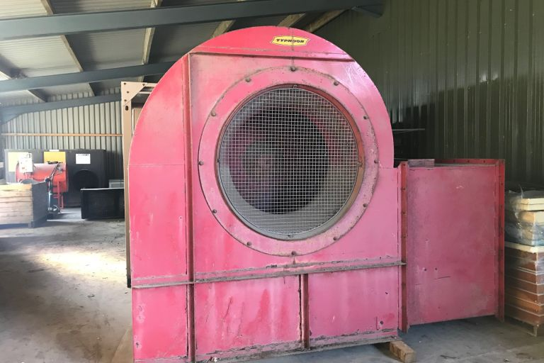 60Hp Centrifugal Fan Unit