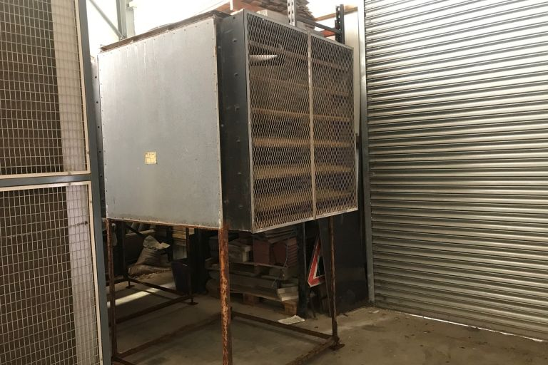2 Steel Airmixing Units