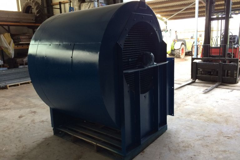 30Hp Double Inlet Fan
