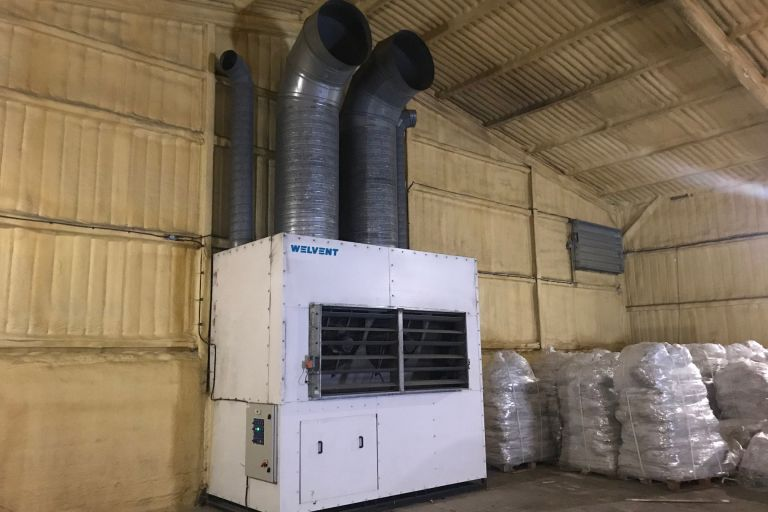45Kw Airmixing Refrigeration Unit